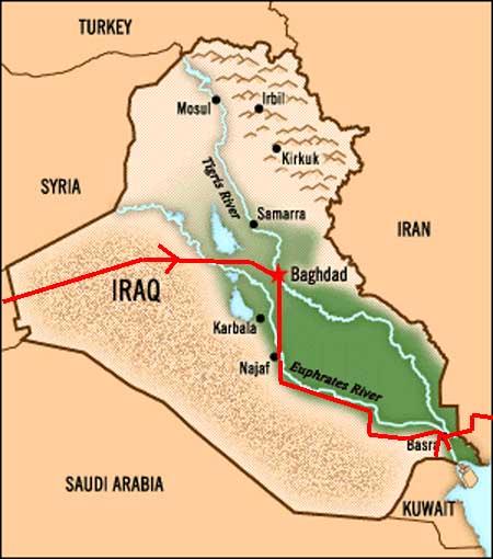Robert Och Bjorn Resan Till Irak Och Iran 1969 30002 Irak 1 Karta